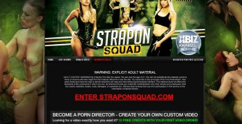 StraponSquad.com - Full SiteRip! Extreme Lesbian Domination