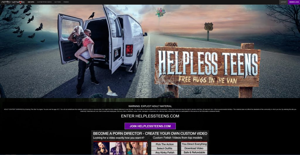 005 HelplessTeens M 1024x531 - HelplessTeens.com - Full SiteRip! Teens Bondage SiteRip