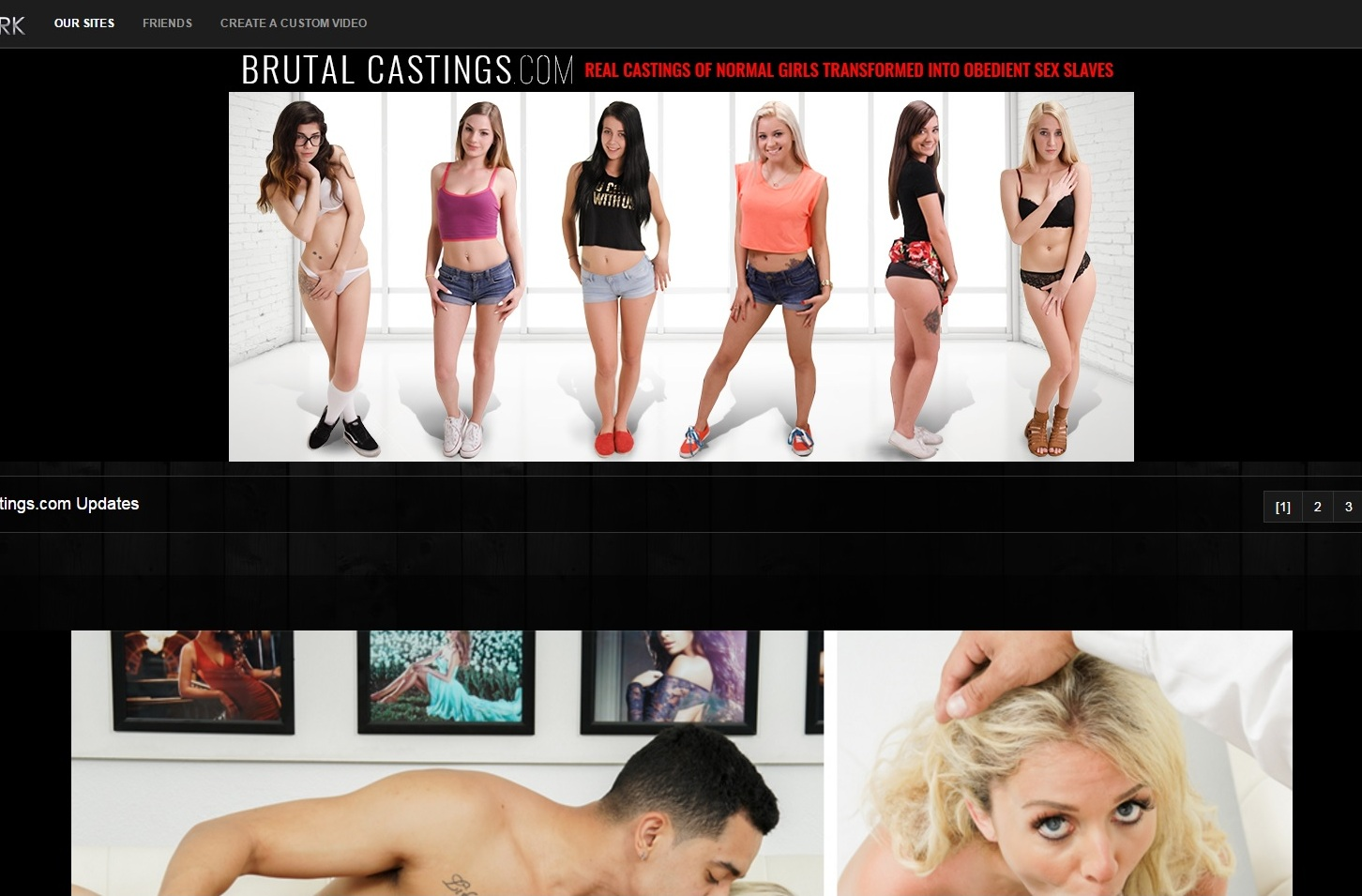 02 BrutalCastings M - BrutalCastings.com - Full SiteRip! Exclusive BDSM Castings Video
